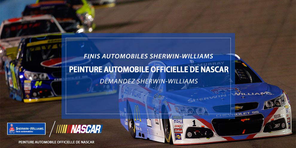 Peinture automobile officielle de NASCAR®